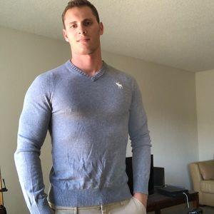 Gray A&F sweater